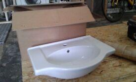 Brand new bathroom basin
