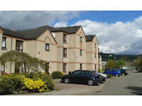 Attractive one-bedroom furnished flat in Cambrai Court, Dingwall available this week