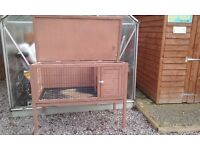 Rabbit hutch for sale.