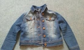 girls 4-5 years denim jacket