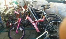 Six bikes spares or repair