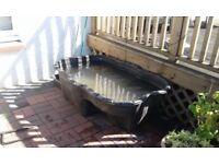 Garden Pond, Waterfall, Pump and Rockery Stones - will sell separately