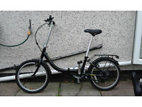 A PAIR Apollo Fold Up Bikes Aluminium Frames Cost £250 each NEVER USED
