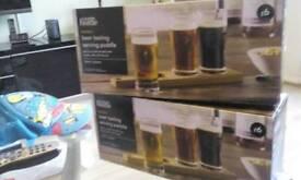 Men gifts sets /beer tasting glasses set