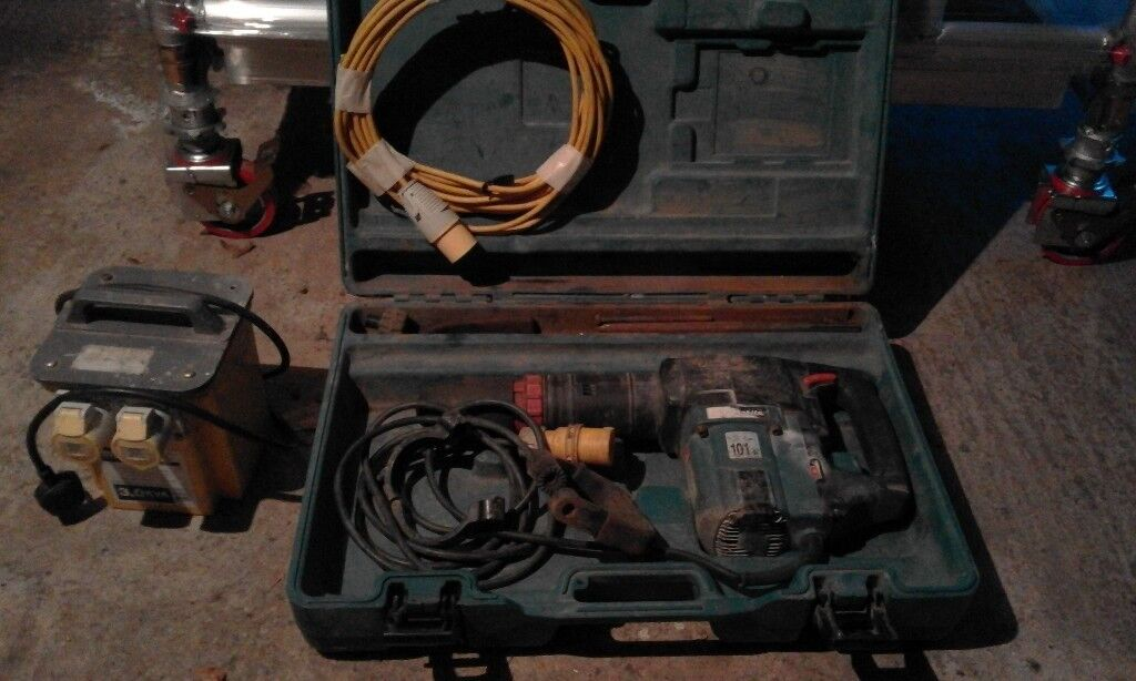 Makita HM1202C demolition hammer, kango, breaker 110V