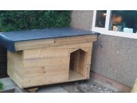 Large well made Dog Kennel, (possible Kids Playhouse, or log store)