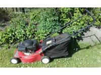 Laser lawnmower