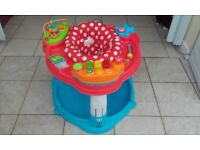 Jumperoo baby activity saucer.