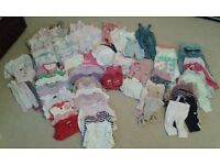 Bundle of Baby girl clothes 6-12 months