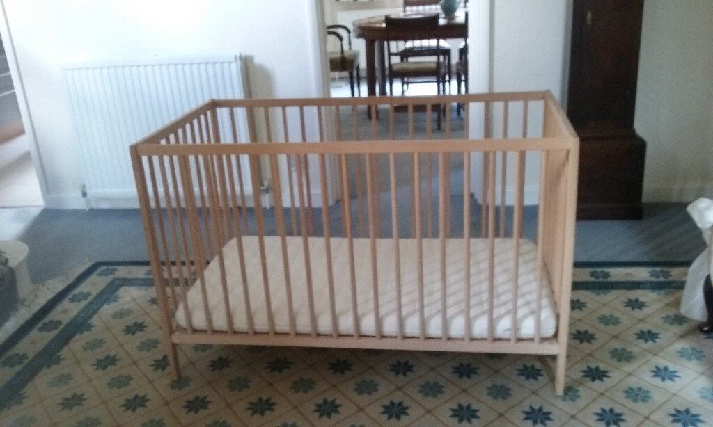 IKEA Sniglar CotIKEA Antelop High Chairin Englefield Green, SurreyGumtree - IKEA Sniglar Cot with mattress. Very good condition. Price to include IKEA Antelop High Chair also in very good condition. Will sell separately if required