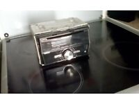 Pioneer double din cd player