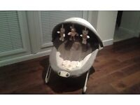 Babies 'R' Us Bear Baby bouncer with vibration mode and music function