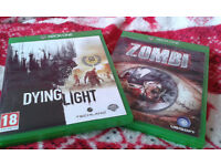 Xbox one games. Only £4 each! Zombi/Dying Light. Will sell seperately. Ideal Xmas stocking fillers!