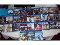Ps4 games and ps3 games plus blu rays job lot