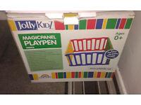 ** Jolly Kidz Magic Panel Playpen **