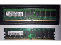 Samsung 1GB 1Rx4 PC2 3200R-333-1-C1
