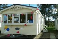 Willerby Granada pre-loved caravan - Central heating, double glazing, stay all season!