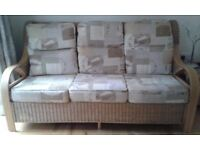 Arthur Llewellyn Jenkins Daro Waterford 3 seater sofa and armchair