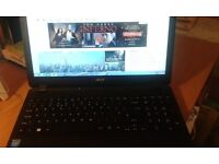 "Acer Laptop, 15 1/2"" screen."