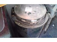 Woodworking dust extractor