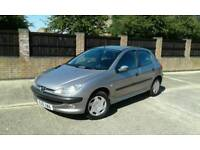 PEUGEOT 206 1.6 GLX 1 OWNER FROM NEW 57K EX RUNNER A/C CLIMATE