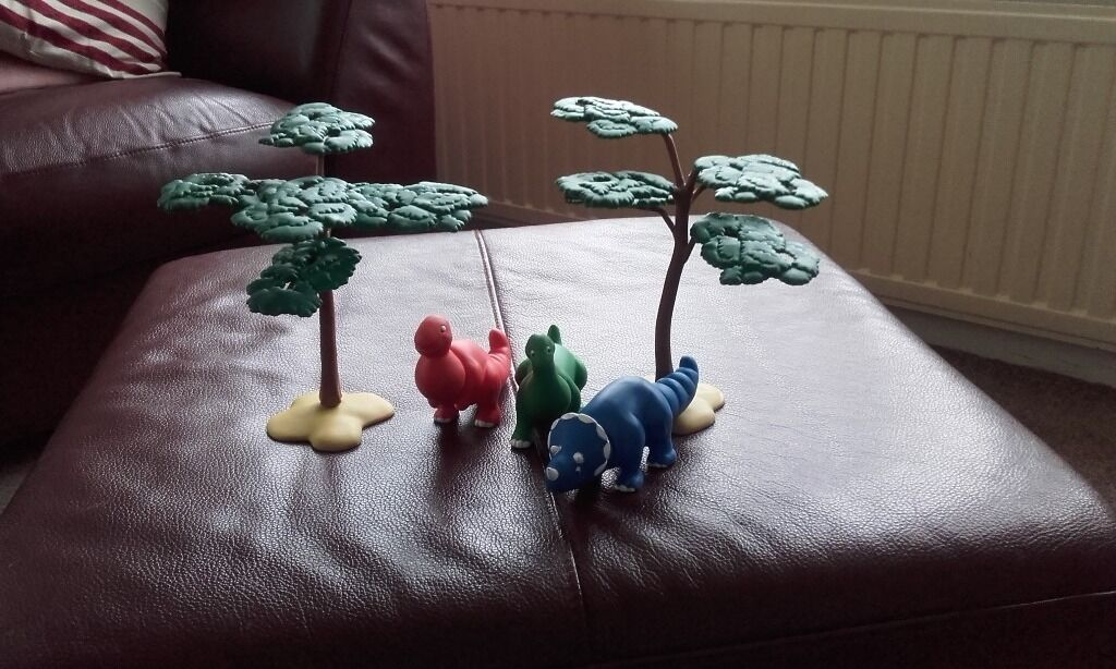 Early Learning Centre Trees and a Selection Animals ( Not Early Learning Centre).