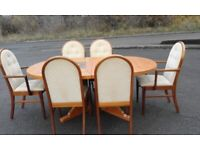Dining table and 6 chairs (Quality not cheap) Reduced again need gone asap!!!!