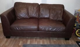 Leather Sofa for Sale!!