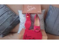 Brand new never been worn Christian louboutin shoes size 39 uk 6