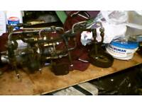 Ford transit 2.5 fuel injector pump with fuel injectors