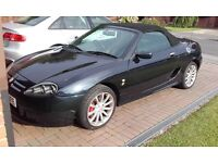 MG TF 160 TROPHY 2002 - HEADGASJET, CAMBELT AND WATERPUMP REPLACED AT 74500 MILES BY TROPHY CARS