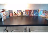 Various disney videos