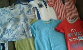 Baby boy tshirts 6-9 months