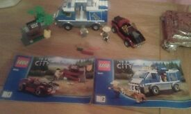 Lego City Gold Mine Forest Police