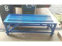 Garden seat bench or plant stand