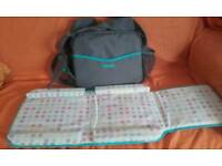 Tomy 3in1 baby changing bag