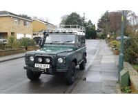 Defender 90 300tdi galv chassis