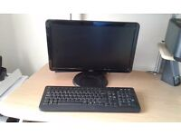 """DELL COMPUTER MONITOR 16"""" SCREEN WITH FREE DELL KEYBOARD AND MOUSE"""