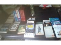 Books-comprehensive resource material for teachers of English. 30 books-grammar, poetry,plays