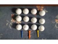 golf balls (Wilson Pro Staff)