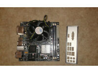 Itx motherboard with e7500 cpu and ram