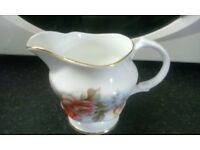 Vintage Arklow Ireland Bone China Milk Jug / Cream Jug