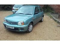 Nissan micra*COMES WITH 3MONTHS WARRANTY & FINANCE AVAILABLE