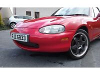 MX5 - Complete with hardtop.