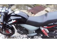 KSR CODE 125CC MOTOR CYCLE