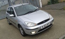 Ford focus. 5 doors hatchback. automatic, 1.6 petrol only 68000 miles, hpi clear, drives good