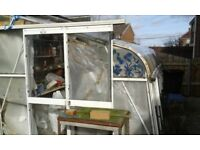 """Large lean to greenhouse approx 10 ft 5"""" by 8 ft"""