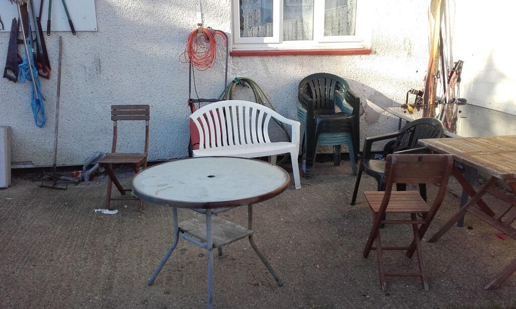Used Garden furniture - FREE