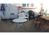 Used Garden furniture - FREE