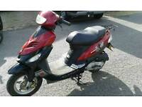 Boation scooter 50cc, low miles, economical, one previous owner